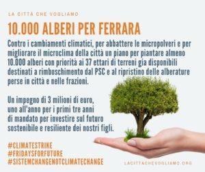 f4cfa50bc0 10.000 alberi per Ferrara: l'adesione di La Città Che Vogliamo alla marcia  degli